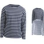 Marineblaue Bio T-Shirts für Damen