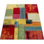 Paco Home Teppich Modern Splash Designer Teppich Bunt Karo Model Neu OVP mehrfarbig 160X230 cm