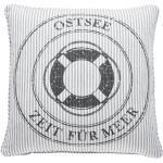 Pad Kissenhã¼lle Ocean Grey Ostsee, 45x45cm,1 St