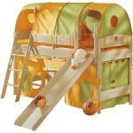 PAIDI Spielbett mit Rutsche Fleximo ¦ holzfarben