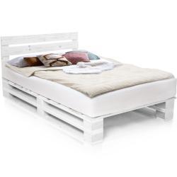 Weiße Möbel-Eins Holzbetten lackiert aus Fichte