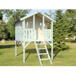 Palmako Spielturm Toby mit Holzleiter Fichte 287 cm x 212 cm x 284 cm