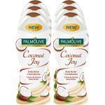 Palmolive Cremedusche Naturals Kokosnuss 250 ml, 6er Pack
