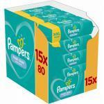 Pampers Feuchte Tücher Fresh Clean 15x Feuchttücher, 1200 Stück