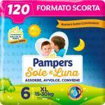 Pampers Windeln Sole e Luna - Große 5 - Vorräte