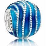 PANDORA - 797012ENMX - Blue Swirls - Blaue Wirbel - Charm