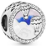 Pandora 798061CZ - Luftballon Silber charm mit Zirkonia + Emaille - Luftballons
