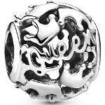 """Pandora Charm Queen & Regal Crown """"798354"""", 925er Silber, silber, keine Angabe"""