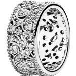 """Pandora Ring Leuchtender Blütenkranz """"190965CZ"""", 925er Silber, silber"""