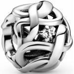 Pandora Silber Charm - 798824C01 - Infinity - Zirkonia