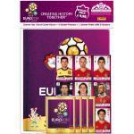 Panini 109950 - UEFA Euro 2012 Starterset Deluxe, Sammelalbum (Buchformat), 4 Stickertüten, Quadrotte (Stickerbogen)