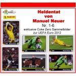 Panini - Uefa Euro 2012 - Heldentat Von Manuel Neuer - Nr. 1 - Nr. 6 Sammelbilder - Alle 6 Sticker Komplett - Neu