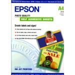 Papier Epson Photo Quality Paper -selbstklebend- 10 Blatt C13S041106 167g m²