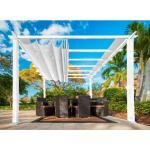 PARAGON Outdoor Pavillon FLORIDA 350x350x235 weiss