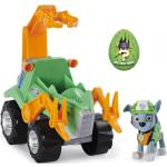Paw Patrol - Dino Deluxe Themed Vehicles - Rocky (6059525) Bunt
