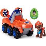 Paw Patrol - Dino Deluxe Themed Vehicles - Zuma Orange