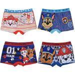 PAW PATROL Jungen 4 er Pack Boxershorts Unterhosen mit unterschiedlichen Motiven (Farbmix 5, 116-128)