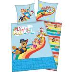 PAW PATROL Kinderbettwäsche Lets Roll, mit tollem Paw Patrol Motiv blau Bettwäsche 135x200 cm nach Größe Bettwäsche, Bettlaken und Betttücher