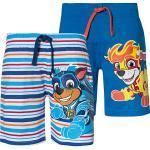 PAW Patrol Shorts Doppelpack blau-kombi Jungen Kleinkinder