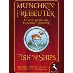 Pegasus Spiele 17147G - Munchkin FishnShips Booster