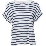 PeopleWearOrganic Damen T-Shirt (Größe: L / Farbe: dunkles blau bedruckt)