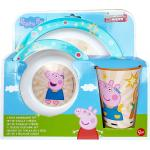 Peppa Pig Frühstücks-Geschirrset » Kinder-Geschirr Set Frühstücksset Wutz«