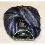 Peria Zoya Wolle weiches Kettgarn 4 x 100 g blau graublau Sonderpreis Mütze Loop