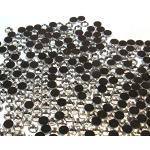 Perlin - Hotfix Strasssteine, 7200stk, Crystal, 3mm SS10 AAA Qualität, Kristall, zum Aufbügeln, Hotglue, Glitzersteine Rhinestone Glass Strass Perlen 405