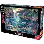 Perre Group 4908 - Read: Dschungel-Paradies - 3000 Teile Puzzle