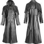 Pest Arzt Retro Vintage Gothic Punk Gothic Steampunk 17. Jahrhundert Mantel Maskerade Trench Coat Herren Kostüm Schwarz / Kaffee / 2 # / 3 # Vintage Cosplay P Lightinthebox