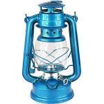 Petroleumlampe Petroleumlaterne Outddor Camping Petroleum Lampe Silber 27cm