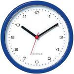 PEWETA Funkwanduhr Design blau 25,0 cm Kunststoff