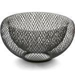 PHILIPPI Schale »Mesh aus pulverbeschichtetem Stahl; Brotkorb / Obstschale«, Stahl