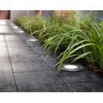 Philips LED-Einbauleuchte Moss Edelstahl