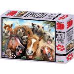 """Philos 9053 - Puzzle 3D """"Pferde Selfie"""" 500 Teile"""