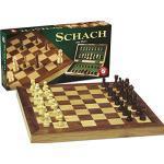 Piatnik Vienna Schachkassette Holz groß