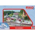 PIKO Spur H0 Dorf-Set, 5tlg.