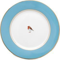 Pip Studio Love Birds Blue - Teller 26,5 cm - 26,5 cm