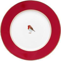 Pip Studio Love Birds Red - Teller 17 cm - 17 cm