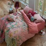 Pinke Nachhaltige PIP Baumwollbettwäsche maschinenwaschbar 135x200