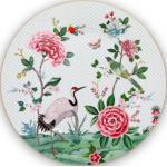 """Pip Studio Platzteller """"Blushing Birds"""" (Weiß)"""