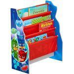 PJ Masken Kinder Sling Bücherregal–Schlafzimmer Buch Aufbewahrung, Holz, mehrfarbig