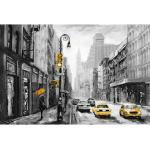 Places of Style Leinwandbild New York bunt Leinwandbilder Bilder Bilderrahmen Wohnaccessoires