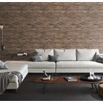 planeo WoodWall - Narrowwood Stone Washed - Echtholz Wandverkleidung handgearbeitetes Premiumprodukt , 1.01 m²