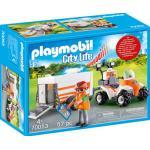 PLAYMOBIL® 70053 Quad mit Rettungsanhänger