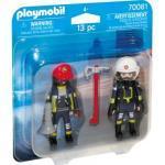 PLAYMOBIL® 70081 Feuerwehrmann und -Frau DuoPack