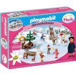 PLAYMOBIL® Adventskalender Heidis Winterwelt, bunt
