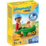 Playmobil Bauarbeiter mit Schubkarre Themenwelt: 1.2.3. (1 1/2-4)