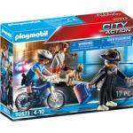 PLAYMOBIL® City Action 70573 Polizei-Fahrrad: Verfolgung des, bunt