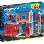 Playmobil City Action - Große Feuerwache mit helicopter - 9462
